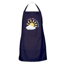 Little Miss Sunshine Apron (dark)
