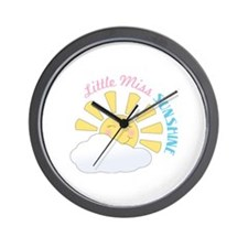 Little Miss Sunshine Wall Clock