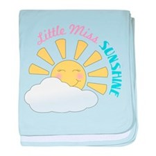 Little Miss Sunshine baby blanket