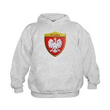 Poland Metallic Shield Hoodie