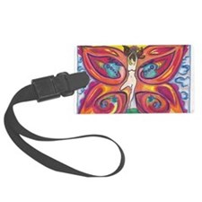 Butterfly Lady Luggage Tag