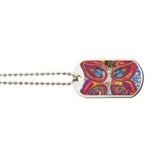 Butterfly Lady Dog Tags