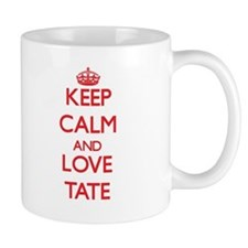 Keep calm and love Tate Mugs
