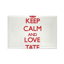 Keep calm and love Tate Magnets