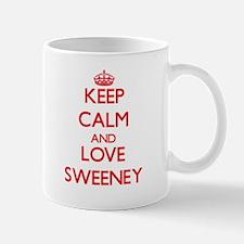 Keep calm and love Sweeney Mugs