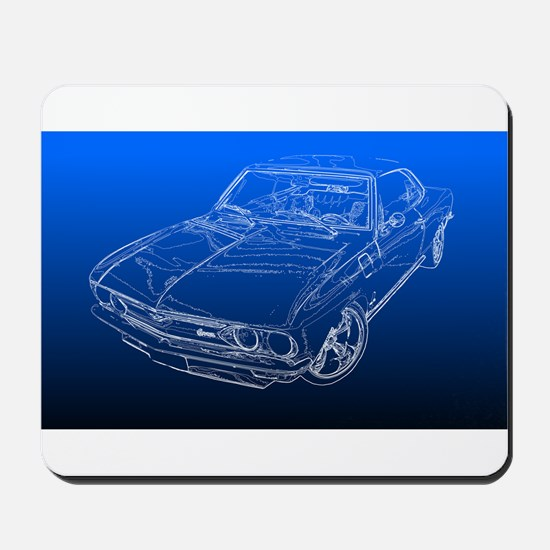 Late Model Corvair Mousepad