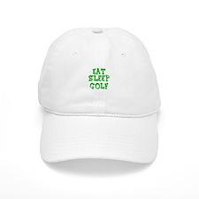 Cute Eat sleep golf Baseball Cap