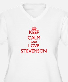 Keep calm and love Stevenson Plus Size T-Shirt