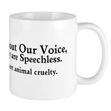 &Quot;Report Animal Cruelty&Quot; Mug