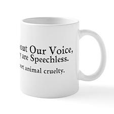 &Quot;Report Animal Cruelty&Quot; Small Mug