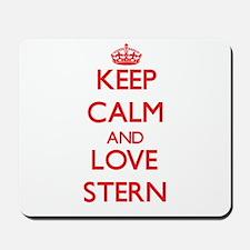Keep calm and love Stern Mousepad