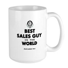 The Best in the World Sales Guy Mugs