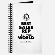 The Best in the World Sales Rep Journal