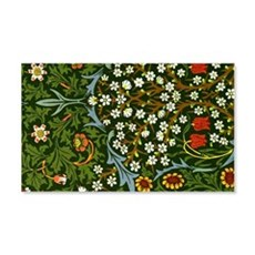 William Morris vintage design: Bl Wall Decal
