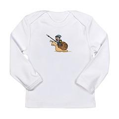 Snail Knight Infant Long Sleeve T-Shirt