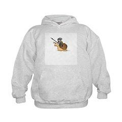 Snail Knight Kid's Hoodie