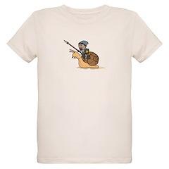 Snail Knight Organic Kid's T-Shirt