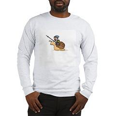 Snail Knight Long Sleeve T-Shirt