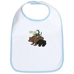 Bear Druid Bib