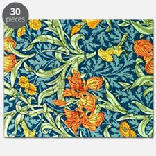William Morris design: Iris floral pattern Puzzle