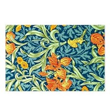 William Morris design: Ir Postcards (Package of 8)