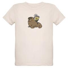 Walrus Beserker Organic Kid's T-Shirt