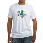Sea Knight Men's Fitted T-Shirt