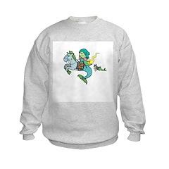 Sea Knight Kid's Sweatshirt