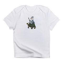 Tortoise Wizard Infant T-Shirt
