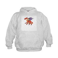 Dragon Knight Kid's Hoodie