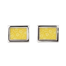 William Morris vintage design: Mallow Ye Cufflinks