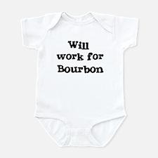 Will work for Bourbon Infant Bodysuit