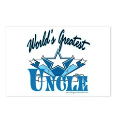 Greatest Uncle Postcards (Package of 8)