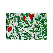 William Morris design: Arbatus pa Rectangle Magnet