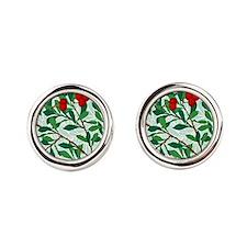 William Morris design: Arbatus pattern Cufflinks