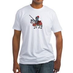 Shining Knight Men's Fitted T-Shirt