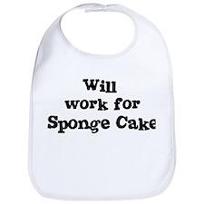 Will work for Sponge Cake Bib