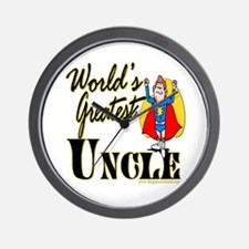 Super Uncle Wall Clock