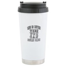 Life Is Better When You Can Square Dance Travel Mug