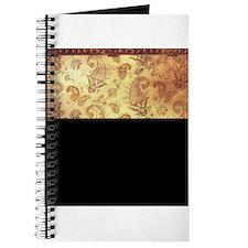 Vintage texture Journal