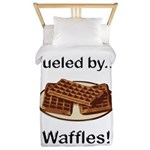 Fueled by Waffles Twin Duvet