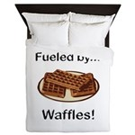 Fueled by Waffles Queen Duvet