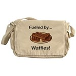 Fueled by Waffles Messenger Bag