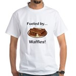 Fueled by Waffles White T-Shirt