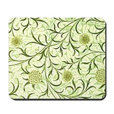 William Morris design: Scroll and Flower Mousepad