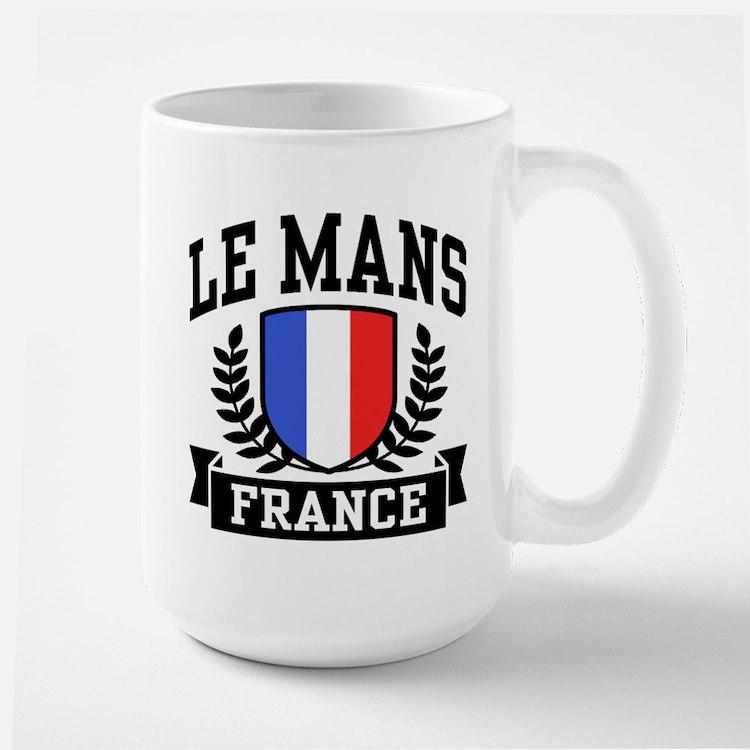 Le Mans France Large Mug