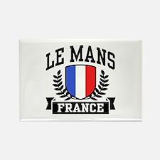 Le Mans France Rectangle Magnet