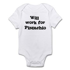 Will work for Pistachio Infant Bodysuit