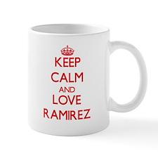 Keep calm and love Ramirez Mugs