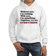 With or Without You Jumper Hoodie